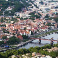 Kaunas, old town, landscape